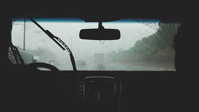 wycieraczki deszcz